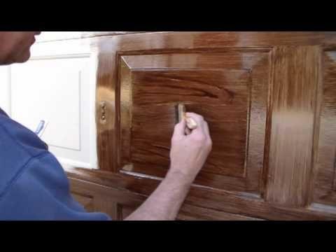 Faux Wood Garage Door the right way - YouTube