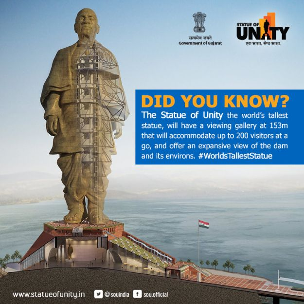 Statue Of Unity Facts Interesting Facts In Hindi Indian History Facts India Facts