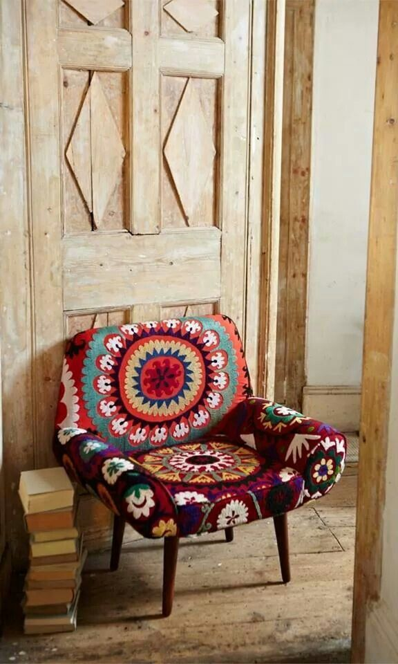 Fun Chair Via Folt Bolt Boho Exotic Hanok Pinterest