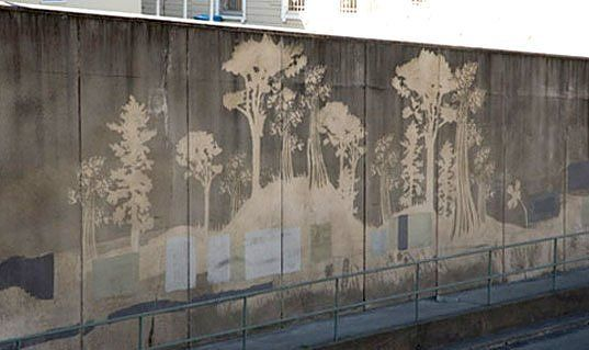 Reverse graffiti! need to do this some where!