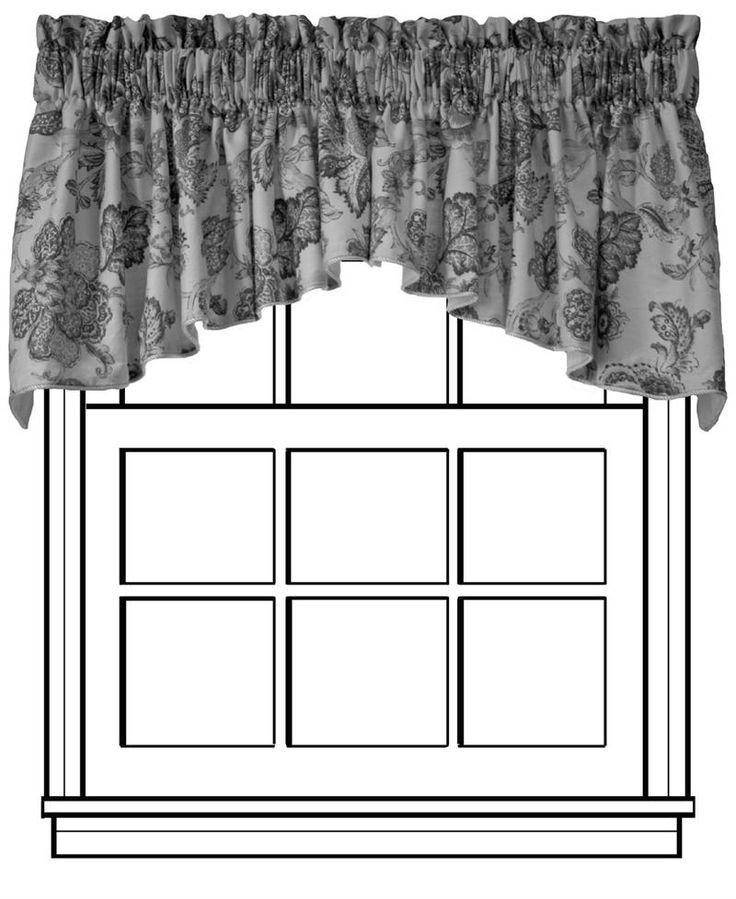 Custom Crescent Valance   Group B. Bathroom CurtainsKitchen CurtainsWindow  CoveringsWindow TreatmentsValanceCrescentsCountry StyleShabby ChicFleur De  Lis