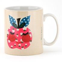 cheerful little apple. mug, petra & boase.