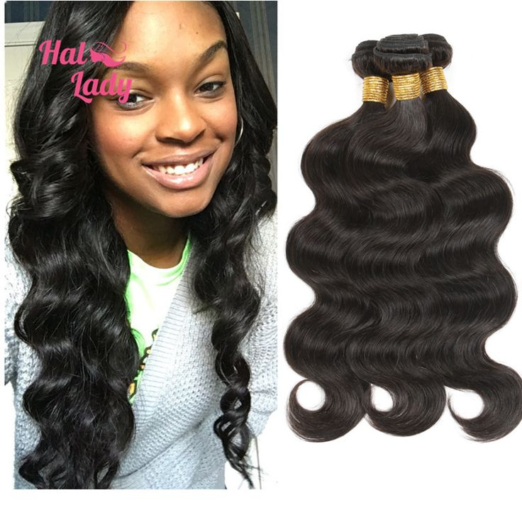 36 38 40inches Body Wave Brazilian Human Hair Weaves 7A Unprocessed Brazilian Body Wave Virgin Hair 3 Bundles Lot Halo Lady Hair