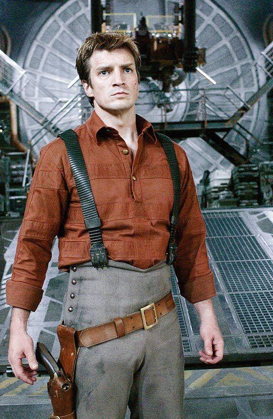 """Firefly"" Nathan Fillion ...Captain Malcolm 'Mal' Reynolds"