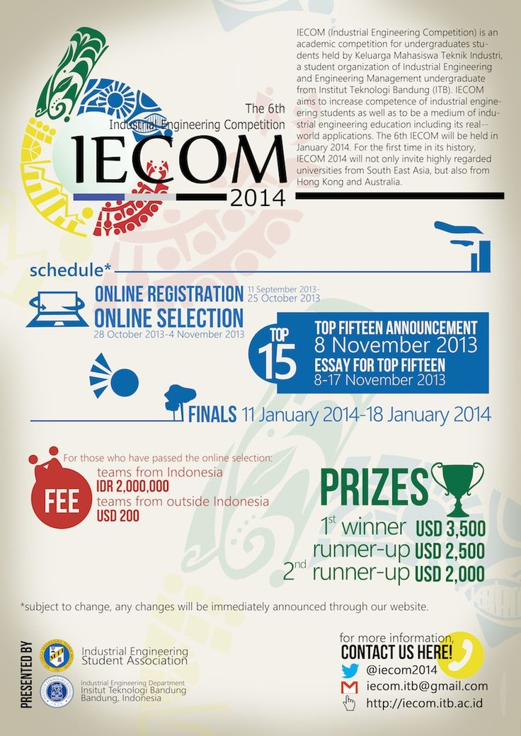IECOM 2014 Competition Invitation Poster Design (unrevised) - MTI