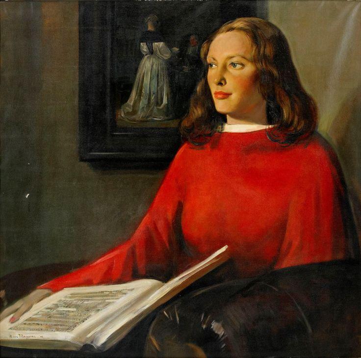 Retrato de Paulina Viola de Boer, 1944 Hans van Meegeren (Holanda, 1889 -1947) óleo sobre tela, 115 x 117 cm