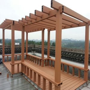 91 best images about outdoor furniture bench pergola - Gazebos de madera ...