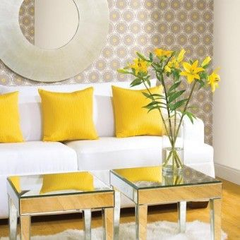 decoraciones en colores amarillo y verde - Buscar con Google