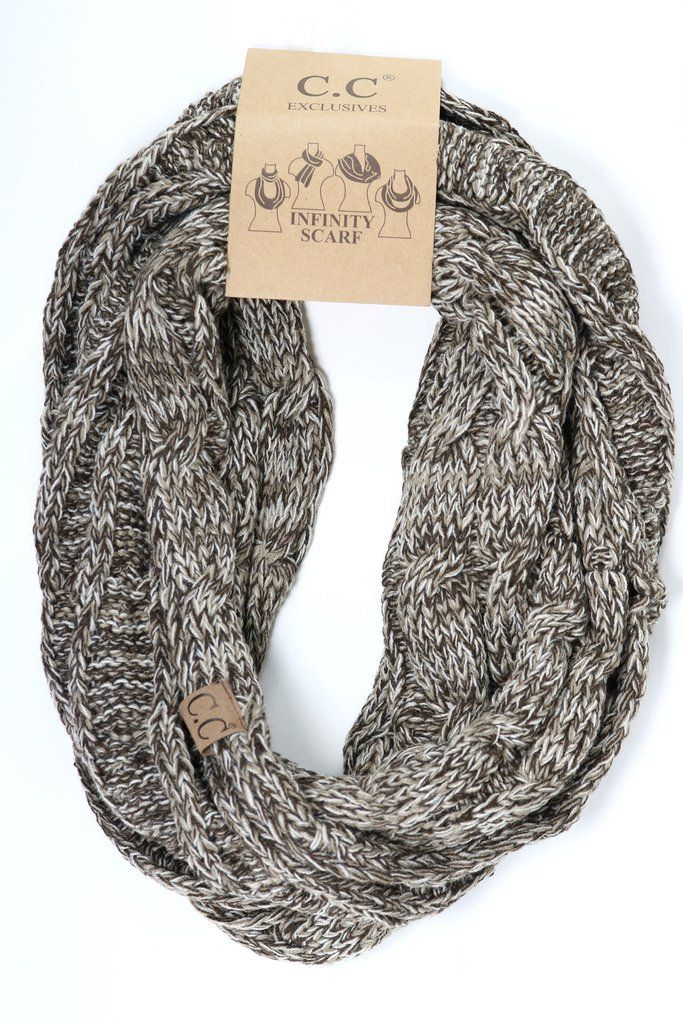 6545dd28c Tri-Color CC Infinity Scarf SF6242 | Products | Slouchy hat ...