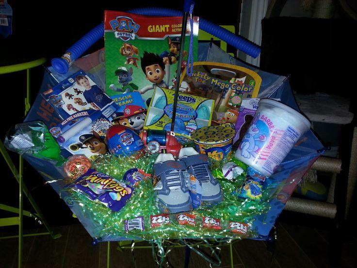 Paw patrol Easter basket