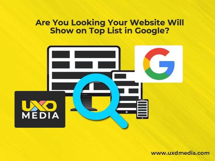 Suchen Sie nach einer Website, die in Google ganz oben auf der Liste steht?