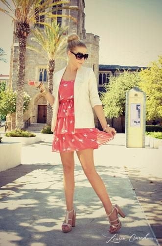 cute summer outfit - lc lauren conrad collection