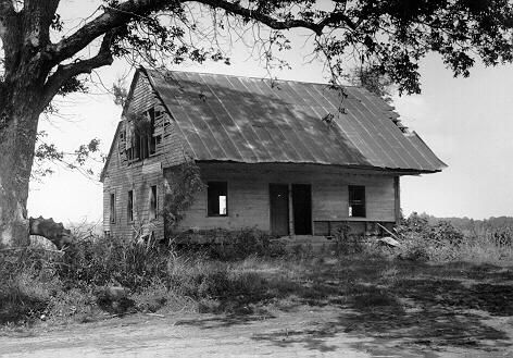 This is the actual home where Samuel Bass and Solomon Northup worked on together, during 1852, at the Edwin Epps plantation in Louisiana.