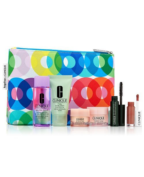Clinique Receive your FREE 7-Pc. gift with any $29 Clinique purchase! (a $75 value!) - Gifts with Purchase - Beauty - Macy's