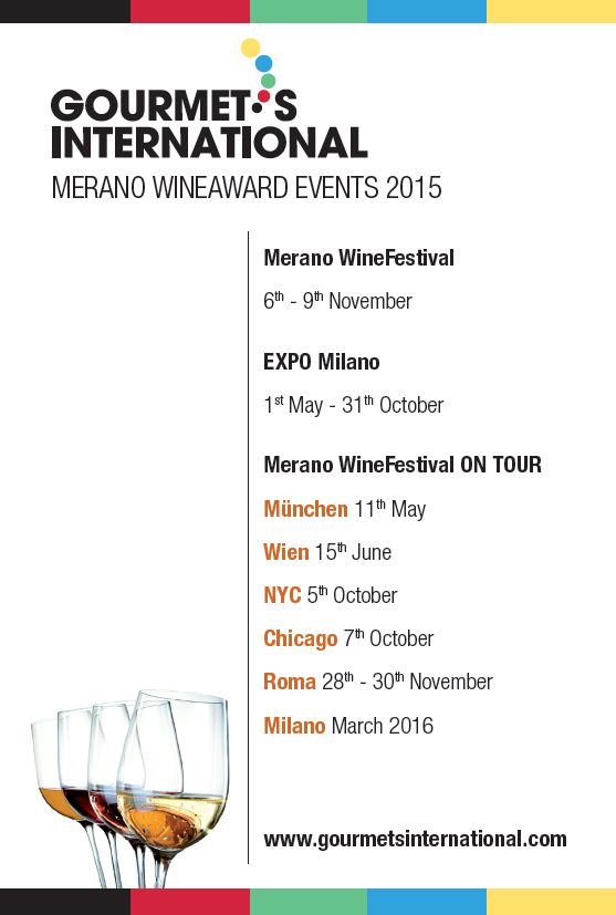 This is the tour of the Merano WineFestival www.meranowinefestival.com (organized by www.gourmetsinternational.com) @wine @italiannotes  @comunicarevino @events @milano @roma @infermento @wien @muenchen @tour @chicago @newyork