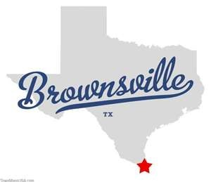 Map of Brownsville Texas TX. Another place I've been and have to say it was like being in Mexico not the U.S