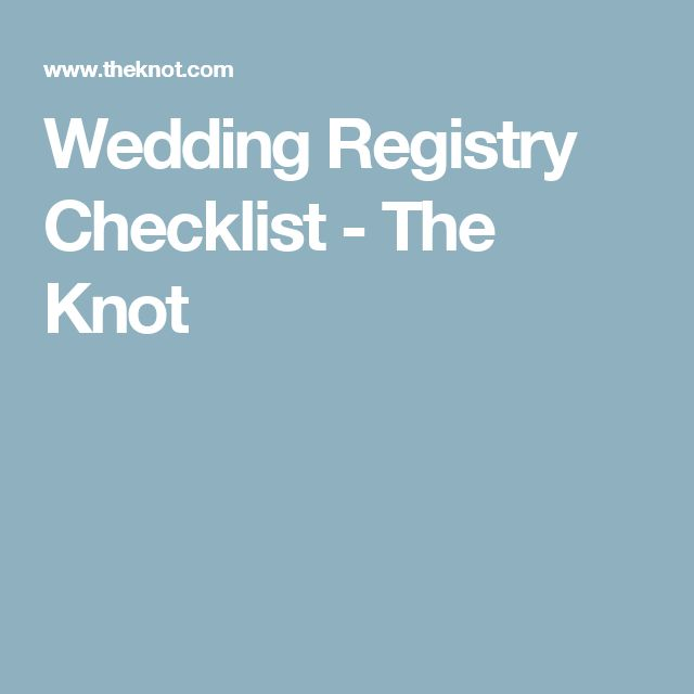 Best 10+ Wedding Registry Checklist Ideas On Pinterest | Wedding
