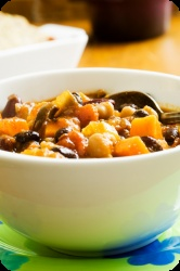 ... some alternatives this #Thanksgiving? Try our Yam and Black Bean Chili