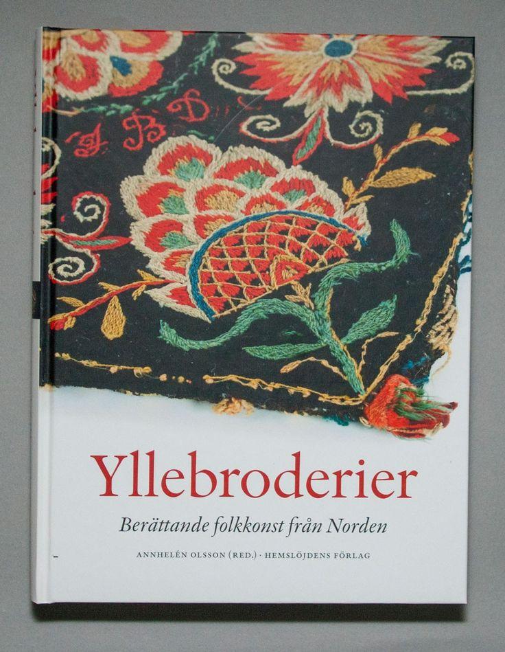 Yllebroderi via Svensk Hemslöjd. Click on the image to see more!
