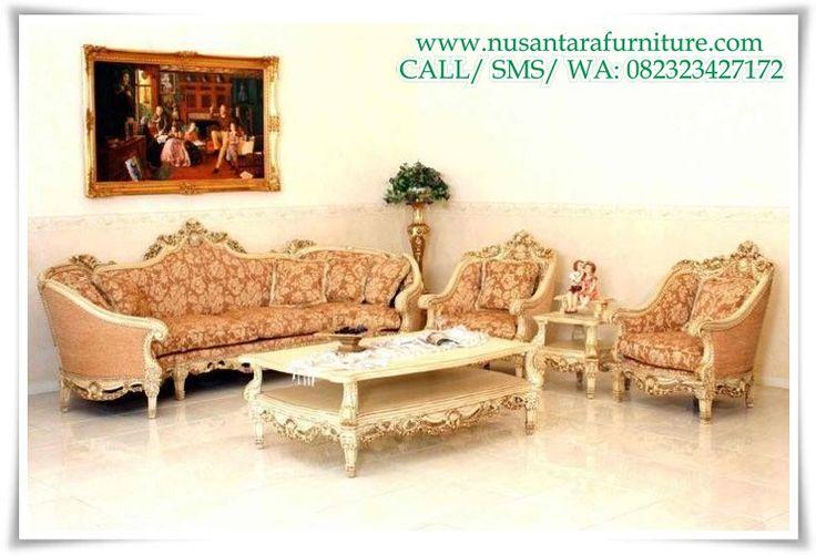 Tarba mobili ~ Set kursi tamu royal mewah terbaru furniture 2018 kursi tamu
