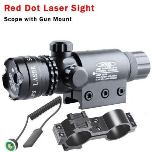 Para 9-23mm Tubo De Aluminio Tactical Laser Verde Mira Láser de Punto Rojo Alcance de Caza Rifles Handgun(China (Mainland))
