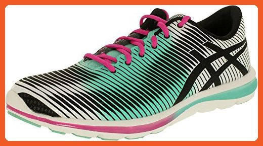 ASICS Women's GEL-Super J33 Running Shoe,Black/Mint/Pink,12 M US - Athletic shoes for women (*Amazon Partner-Link)