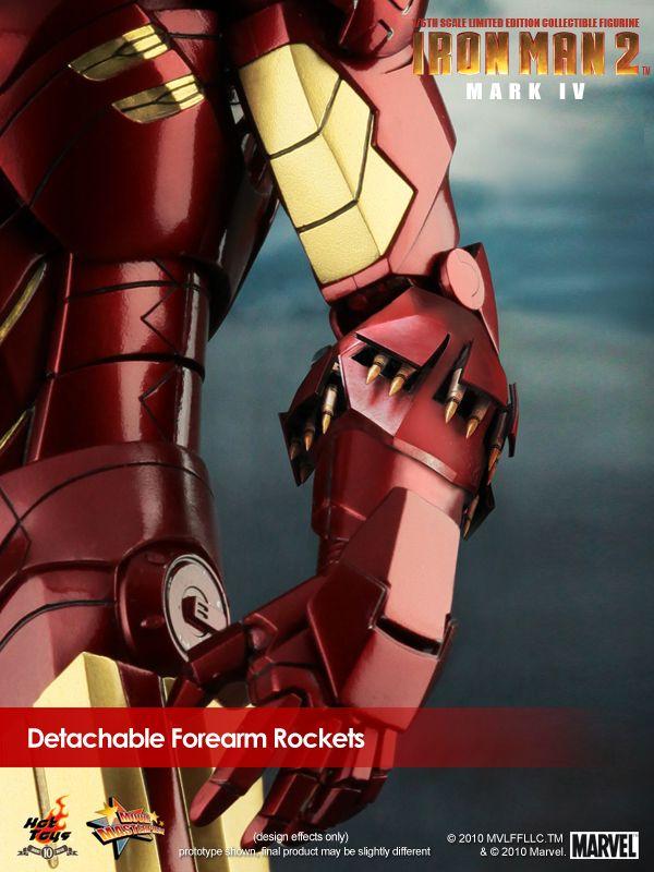 Iron Man 2 Mark IV cohetes