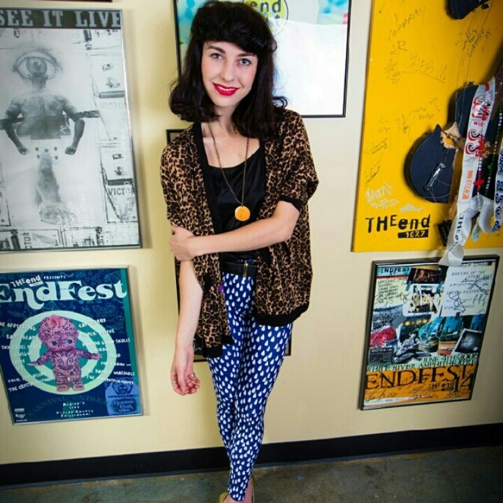 #Kimbra loves her #Uptights raindrop #leggings www.etsy.com/shop/uptightso