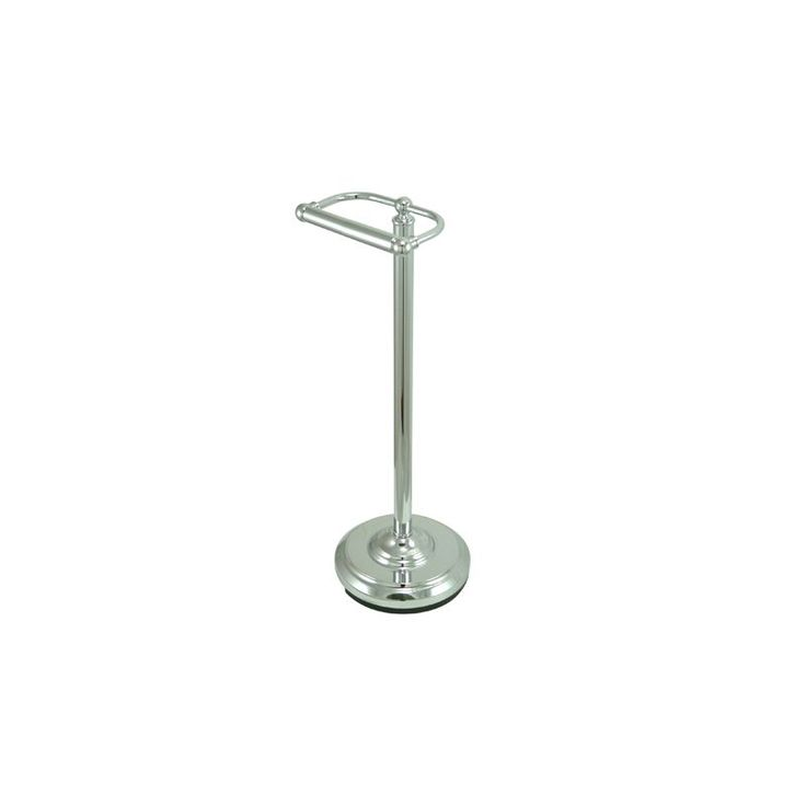 Kingston Brass CC200 Vintage Traditional / Classic Pedestal Toilet Paper Holder Polished Chrome Accessory Tissue Holder