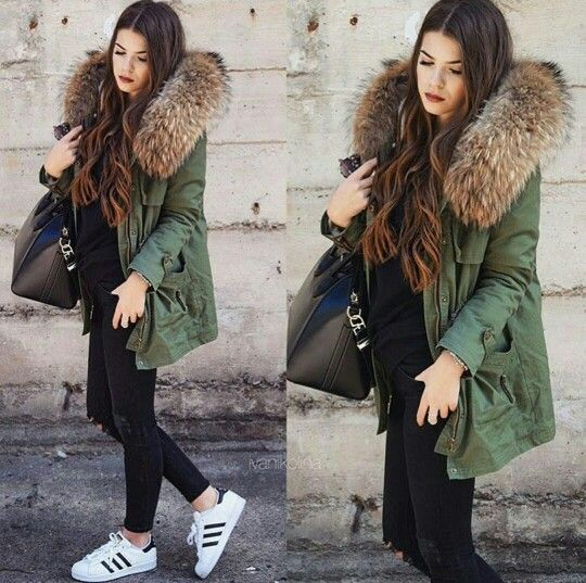 Best 25  Parka outfit ideas on Pinterest | Green parka, Parka and ...