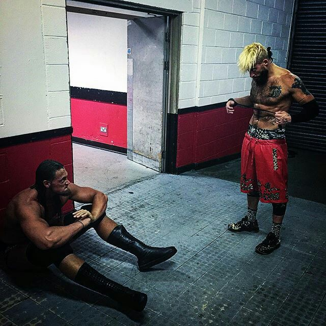 Colin Cassaday and Enzo Amore.