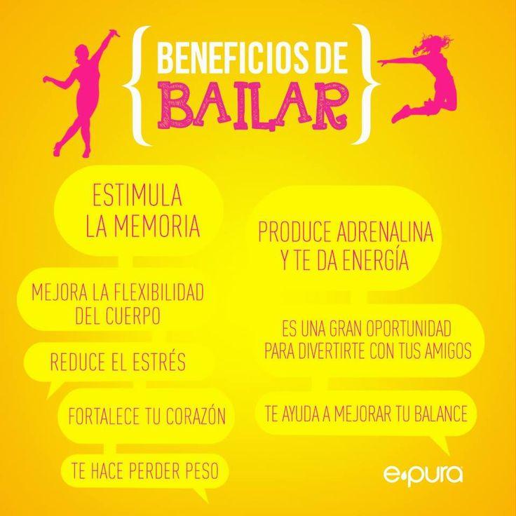 Beneficios de BAILAR #umayor #estudiantes #saludable