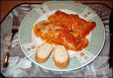 Cannelloni au veau, sauce rosée à la Élyne H.