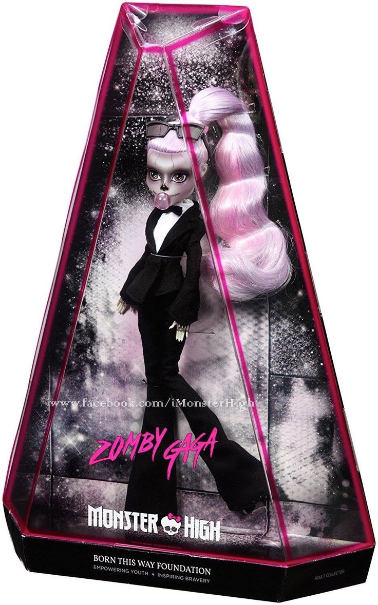 Lady Gaga's Monster High doll