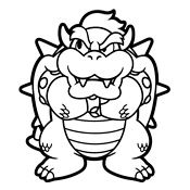 coloring pages mario bros and luigi nintendo - Nintendo Coloring Pages