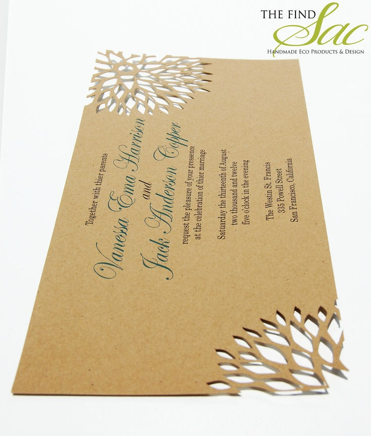 90 Best Kraft Paper Invite Images On Pinterest