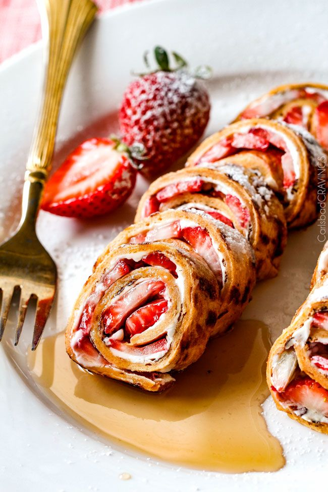 Flatbread French Toast Roll Ups or French Toast Pinwheels