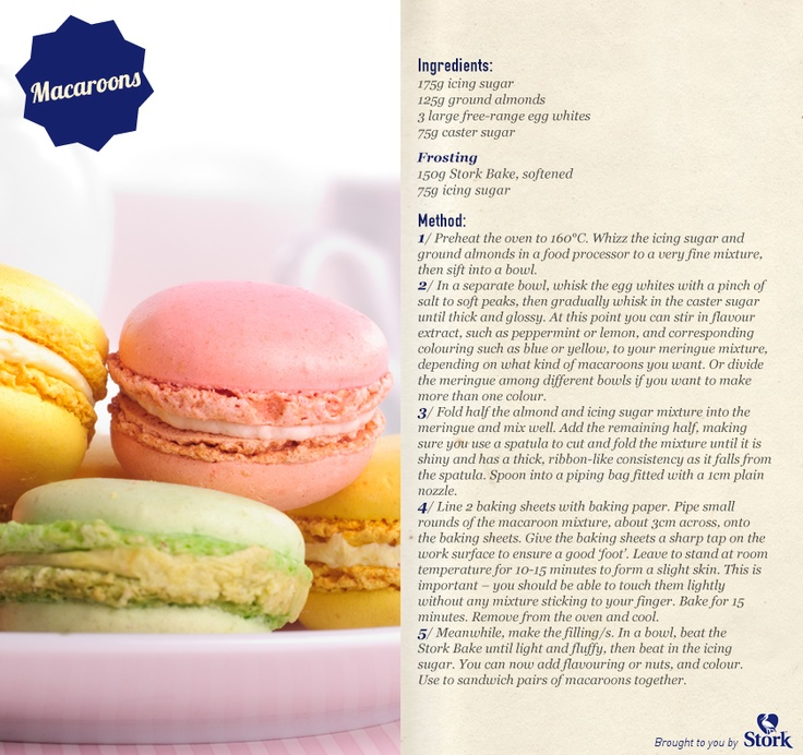 Macaroons #recipe, need we say more?