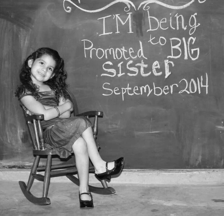 17 Best images about baby anouncement ideas – Big Sister Birth Announcement
