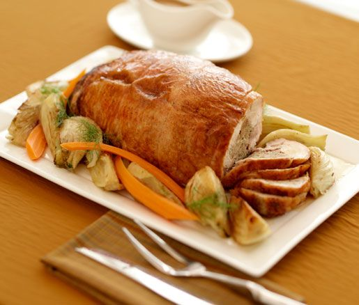 Recipes TACCHINO RIPIENO ALLA LOMBARDA (STUFFED TURKEY LOMBARDY-STYLE) Mario Batali