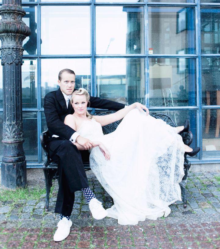 bröllop brudklänning emmas vintage  From: http://blogg.damernasvarld.se/emmasvintage/#