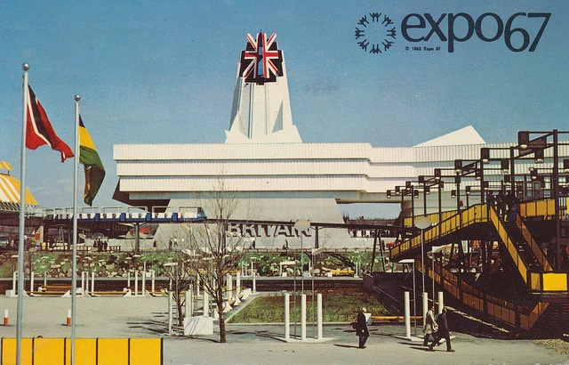 Great Britain Pavilion at Expo '67, Montreal, Canada