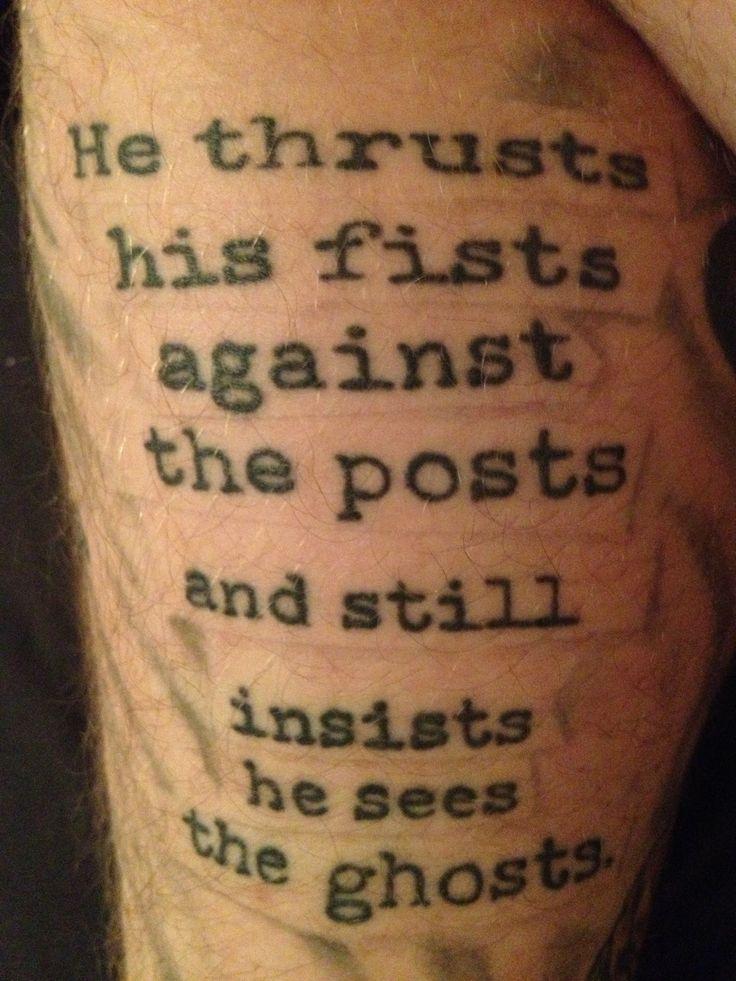 Stephen King's IT tattoo