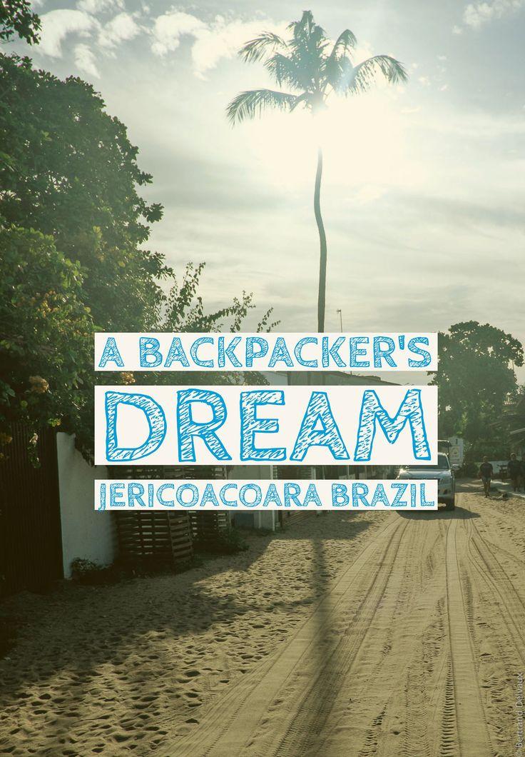A backpacker's dream: Jericoacoara, Brazil! Read the full story on the blog.