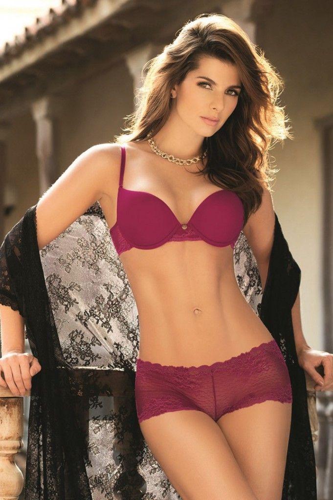 Chamela presenta su nueva colecci n de ropa interior femenina 2015 2 junto a la sensual carolina - Ropa interior sensual barata ...
