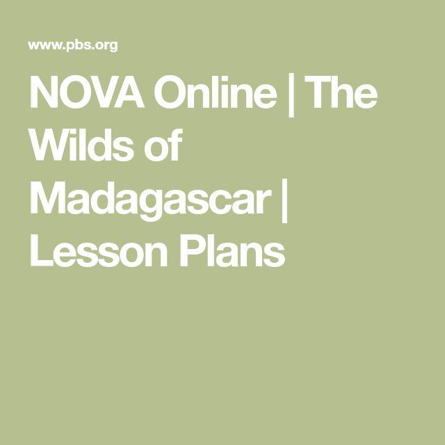 NOVA Online | The Wilds of Madagascar | Lesson Plans