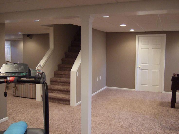 finished basement ideas finished basement plans ideas on basement wall paint colors id=24332