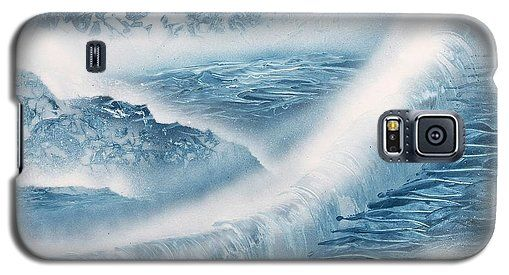 Waterfall From Heaven Galaxy S5 Case Printed with Fine Art spray painting image Waterfall From Heaven by Nandor Molnar (When you visit the Shop, change the orientation, background color and image size as you wish)