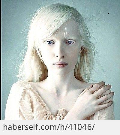 Güzelliğe Farklı Bir Tanım: Albino Manken Nastia Kumarova'nın Görende Hayranlık Uyandıracak 30 Fotoğrafı - Haberself