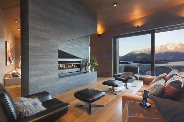 Stunning & stylish master living area